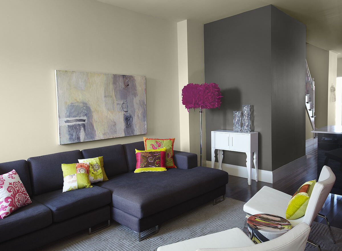 Paint Living Room  Paint Ideas for Living Room with Narrow Space TheyDesign