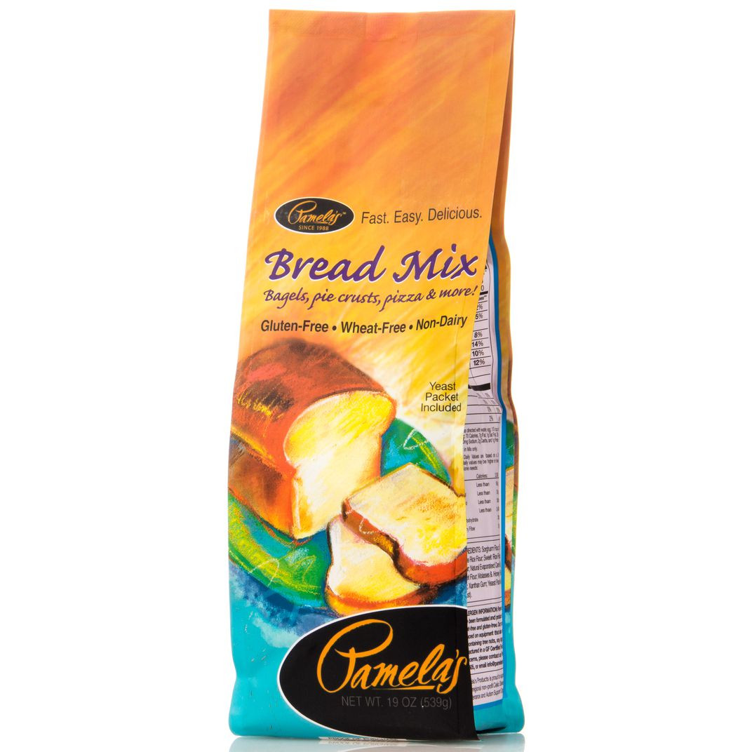 Pamela'S Gluten Free Bread Mix  Pamela s Bread Mix Gluten Free Azure Standard