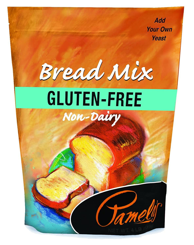 Pamela'S Gluten Free Bread Mix  Pamela s Products Gluten free Bread Mix 4 Pound Bags