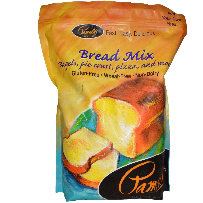Pamela'S Gluten Free Bread Mix  Pamela s Products Amazing Wheat Free & Gluten free Bread