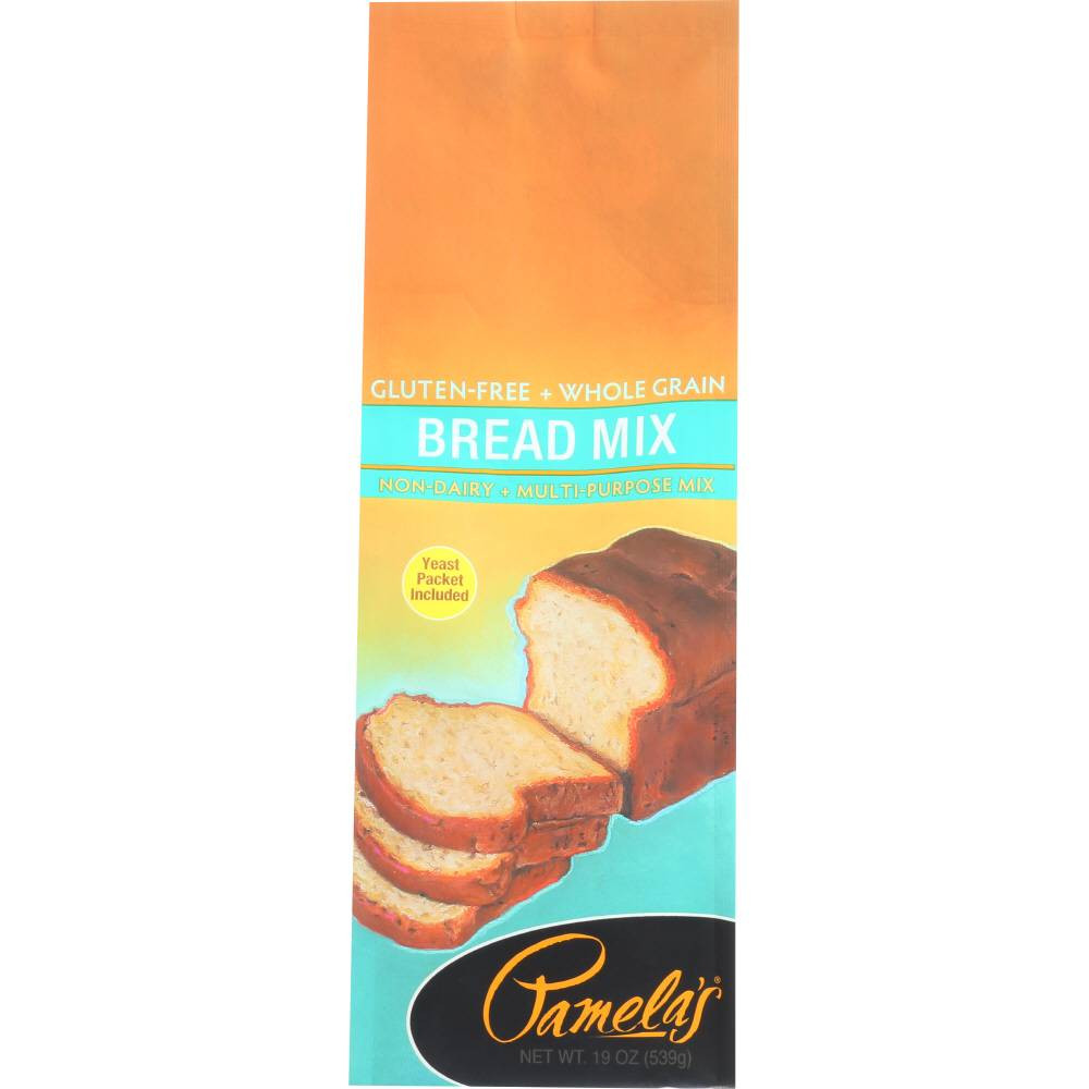 Pamela'S Gluten Free Bread Mix  Pamelas Gluten Free Bread Mix 19 Oz