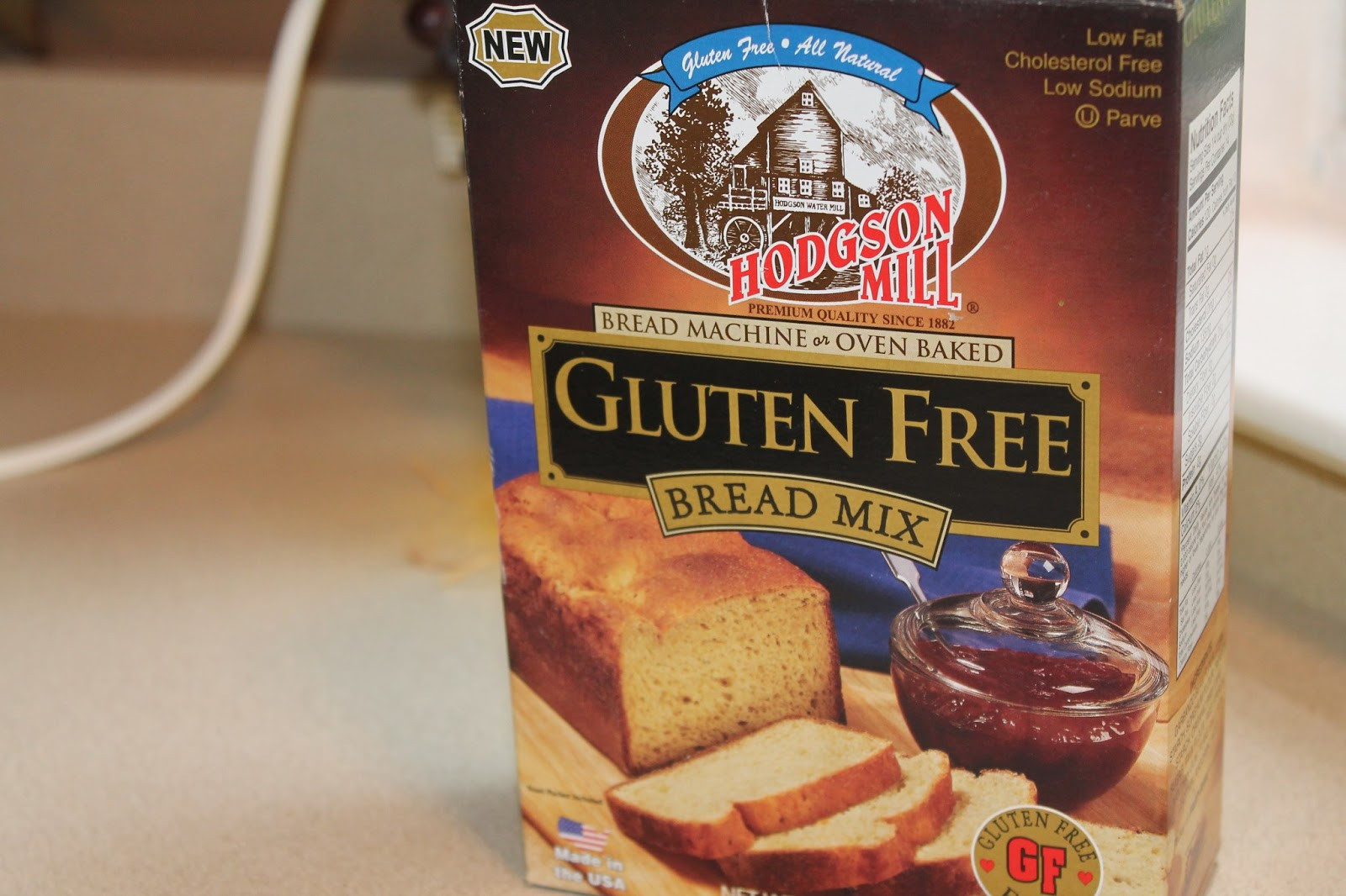 Pamela'S Gluten Free Bread Mix  Naturally Sweet Sisters Diabetes and Crafts Hodgson Mill