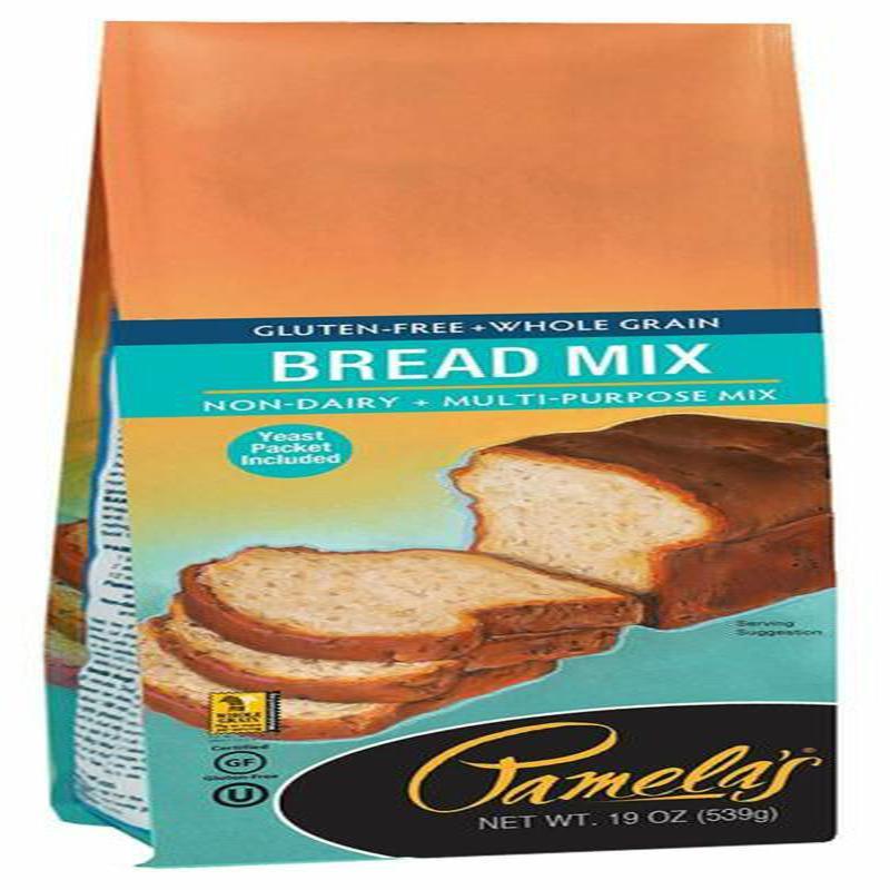Pamela'S Gluten Free Bread Mix  Pamela S Products Gluten Free Bread Mix 19 Ounce