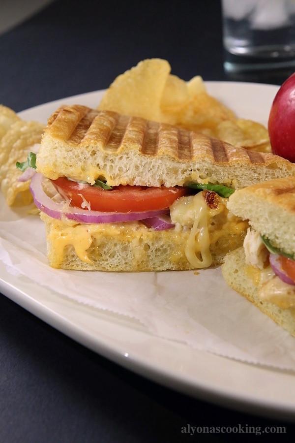 Panera Panini Recipes  Frontega Chicken Panini Sandwich Recipe Panera Bread Copycat