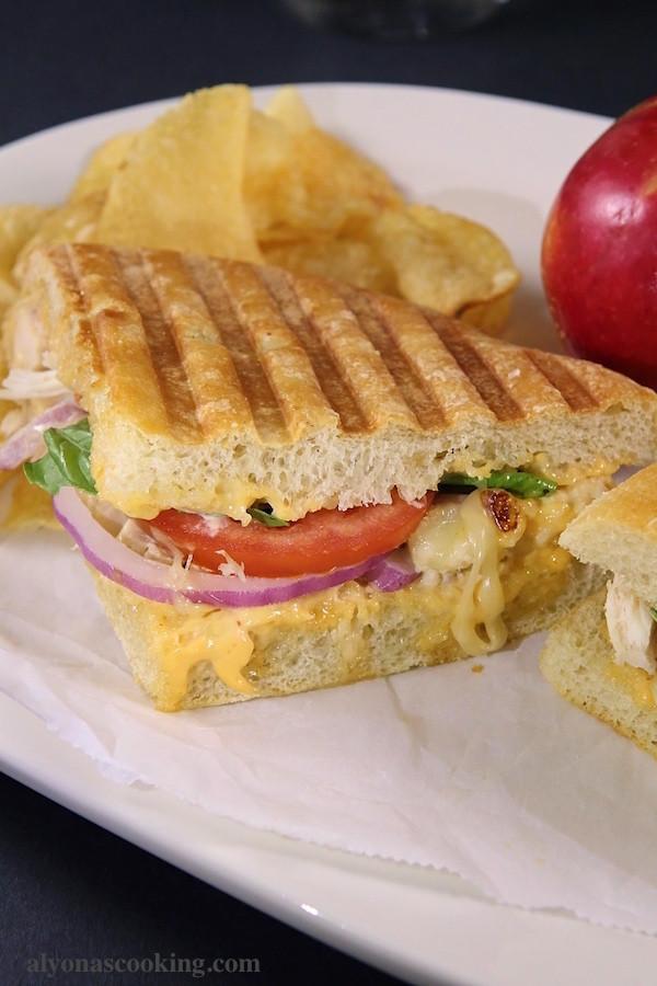 Panera Panini Recipes  Frontega Chicken Panini Sandwich Recipe Panera Bread