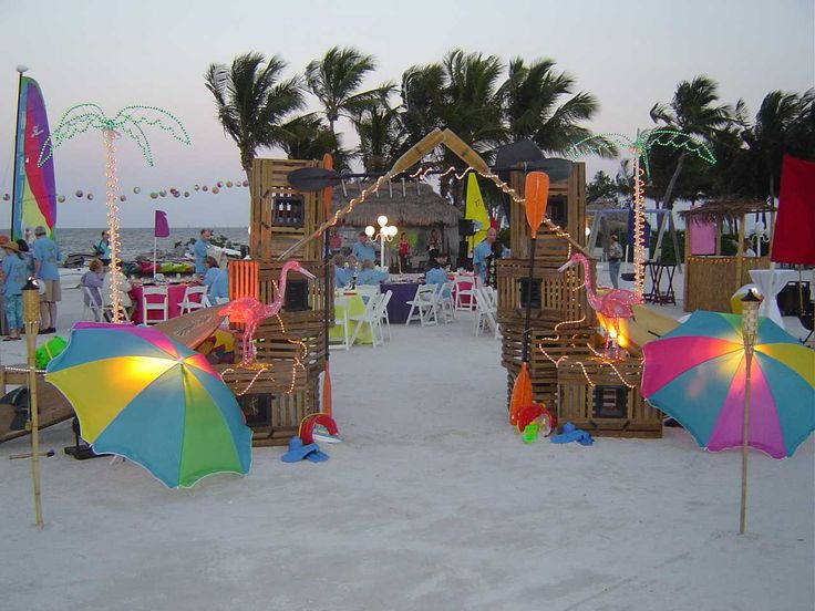 Party On The Beach Ideas  155 best CARIBBEAN PARTY IDEAS AND DECORATIONS images on