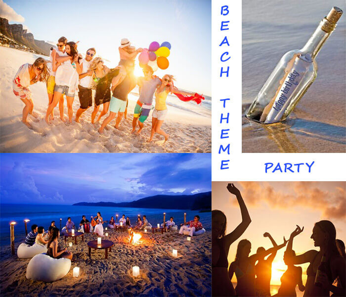 Party On The Beach Ideas  Guest Post 15 Thrilled Theme Party for 18th Birthday Punch