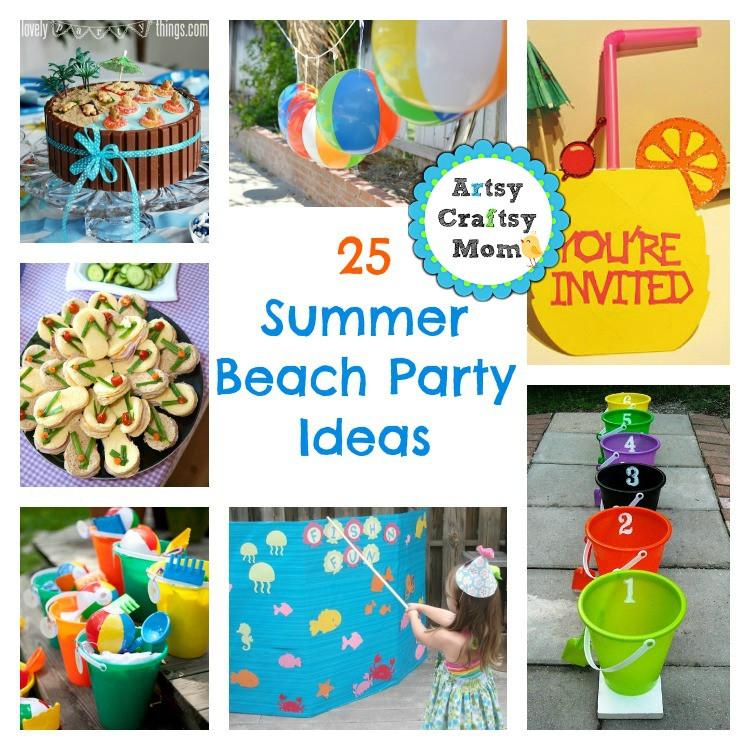 Party On The Beach Ideas  25 Summer Beach Party Ideas