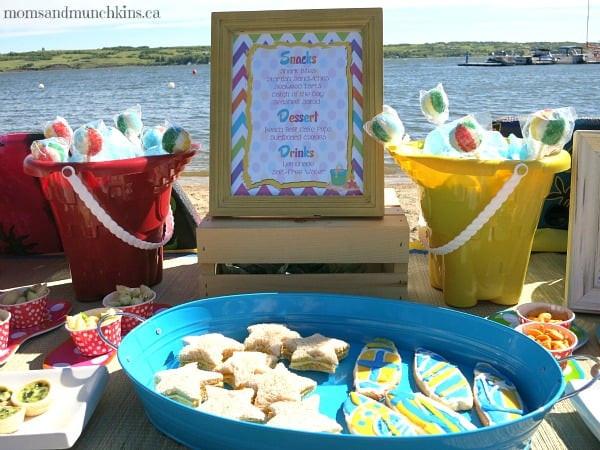 Party On The Beach Ideas  Beach Birthday Party Ideas Moms & Munchkins