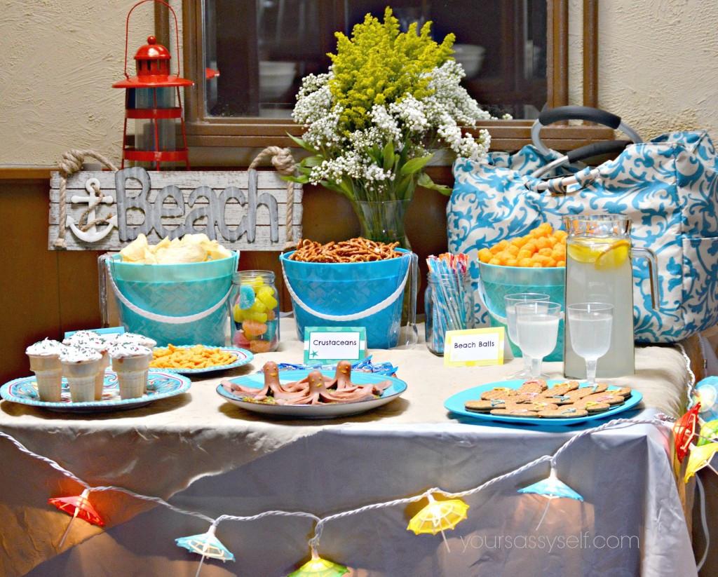 Party On The Beach Ideas  Fun Birthday Beach Party Ideas For Any Age Your Sassy Self