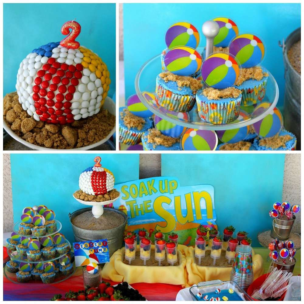 Party On The Beach Ideas  Beach Birthday Party s and for