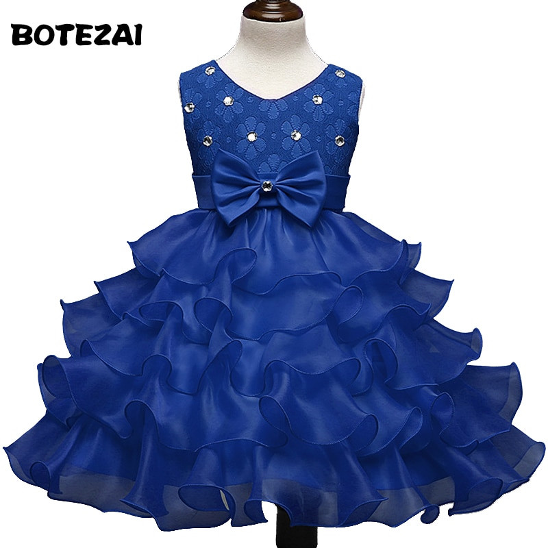Party Wear For Kids  New Birthday party girl dress for girls clothes kids