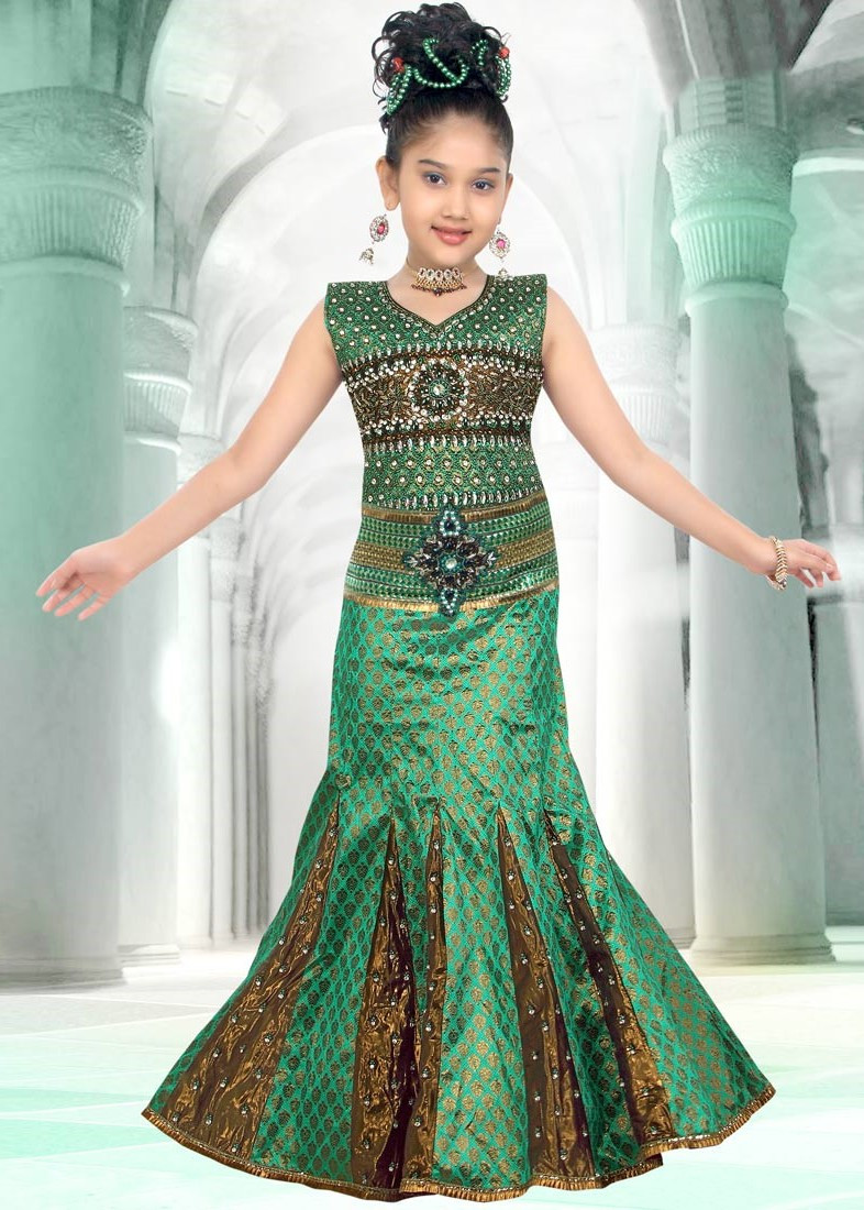 Party Wear For Kids  Lehenga for Kids Fashion 2019