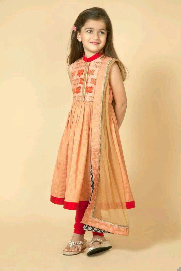 Party Wear For Kids  219 best Pakistani kids party wear images on Pinterest