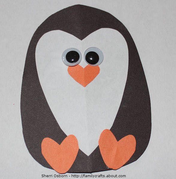Penguin Craft For Preschoolers  80 best images about preschool penguin theme on Pinterest