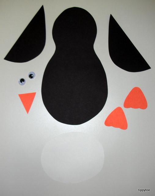 Penguin Craft For Preschoolers  Tippytoe Crafts Penguins