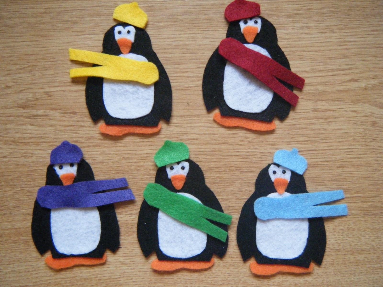Penguin Craft For Preschoolers  Felt Board Ideas Penguin Preschool Theme