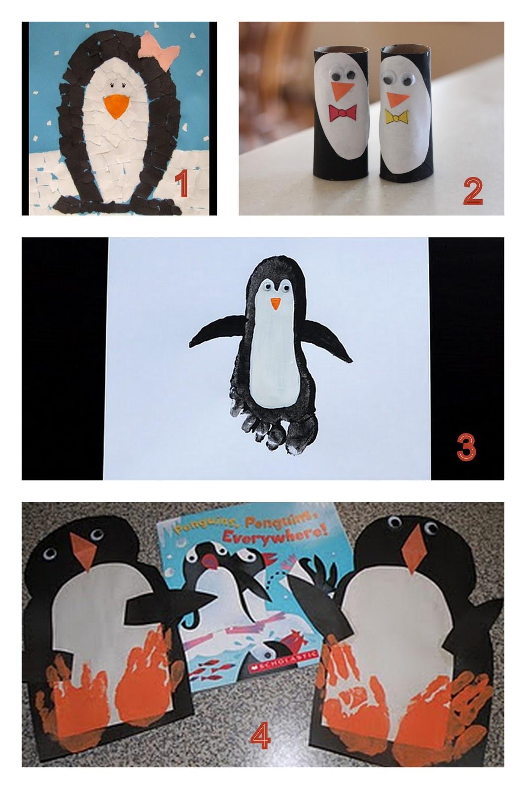 Penguin Craft For Preschoolers  Having Fun at Home Preschool Penguin Crafts