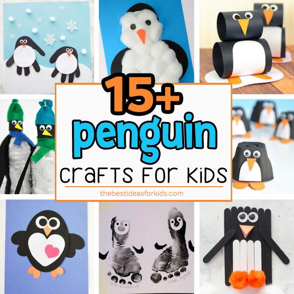 Penguin Craft For Preschoolers  15 Adorable Penguin Crafts for Kids The Best Ideas for Kids