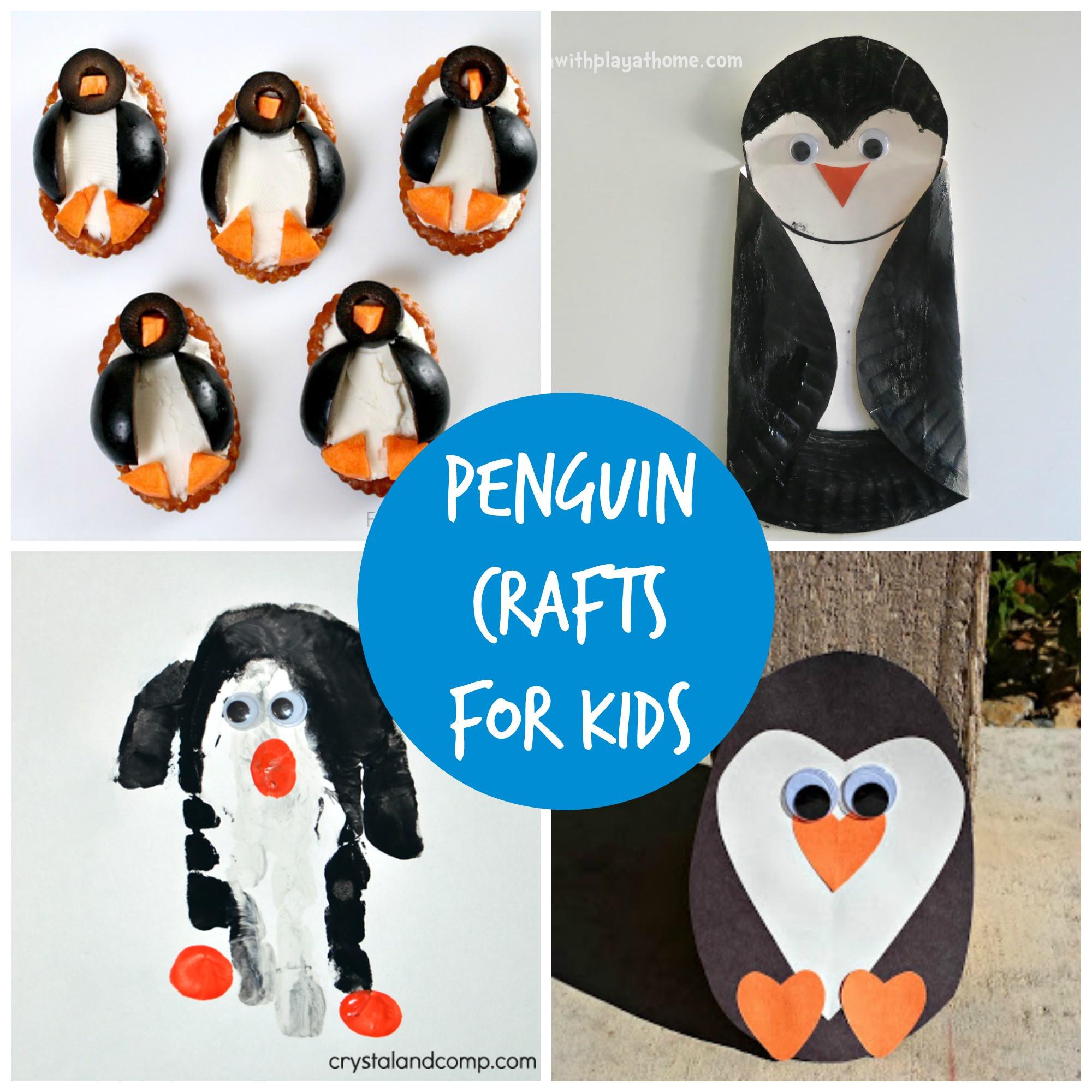 Penguin Craft For Preschoolers  Free craft activities for kids Penguins in Warrington