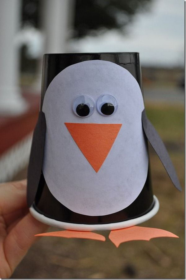 Penguin Craft For Preschoolers  Cute Christmas Penguin Crafts for Kids Hative