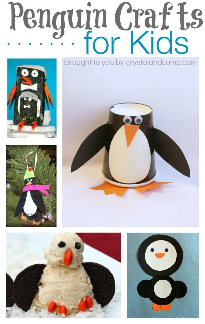 Penguin Craft For Preschoolers  P is for Penguin Craft