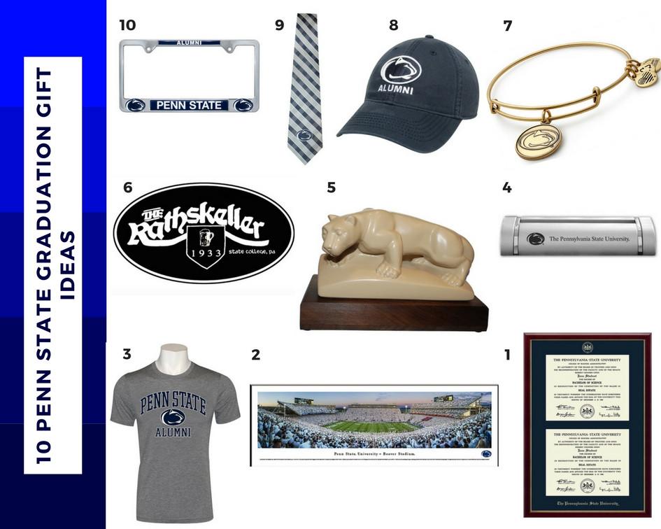Penn State Graduation Gift Ideas  10 Penn State Graduation Gift Ideas Lions Pride