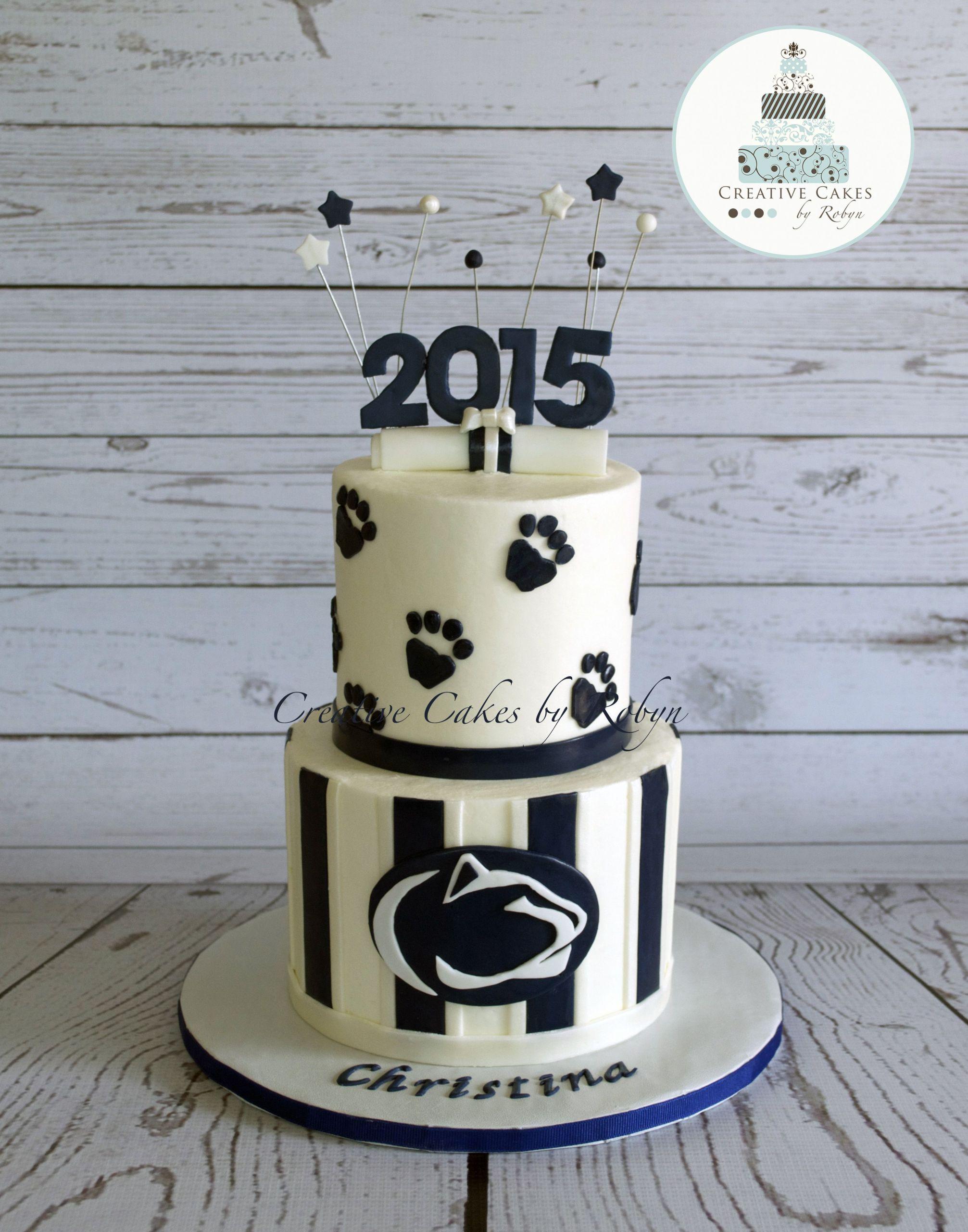 Penn State Graduation Gift Ideas  Penn State graduation cake