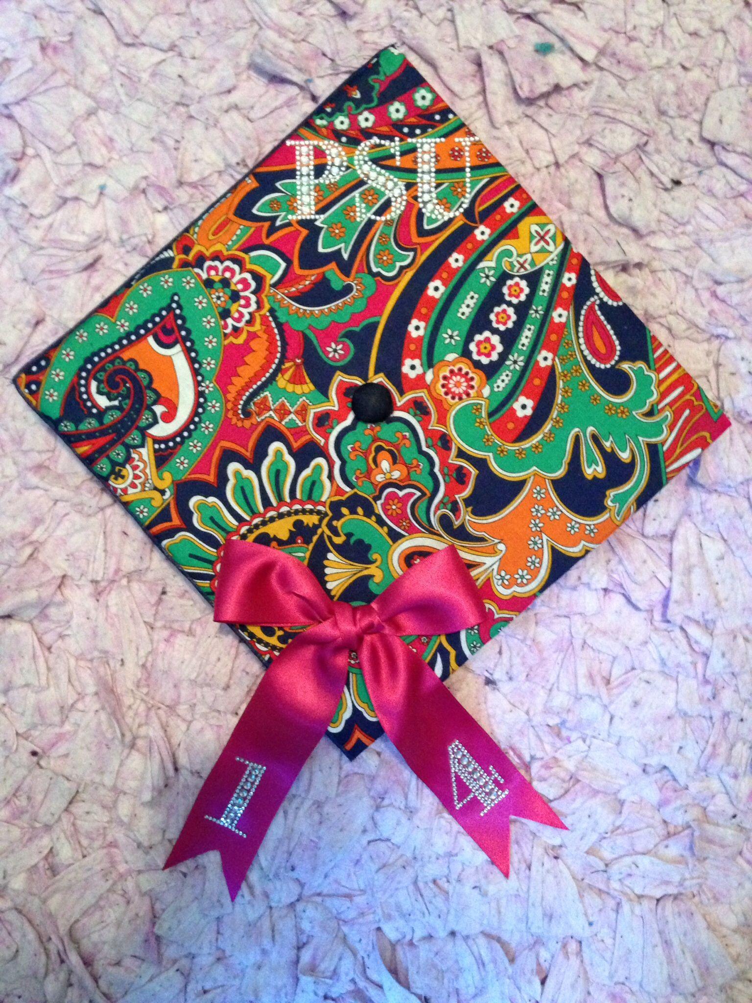 Penn State Graduation Gift Ideas  My Vera Bradley Penn State Graduation Cap