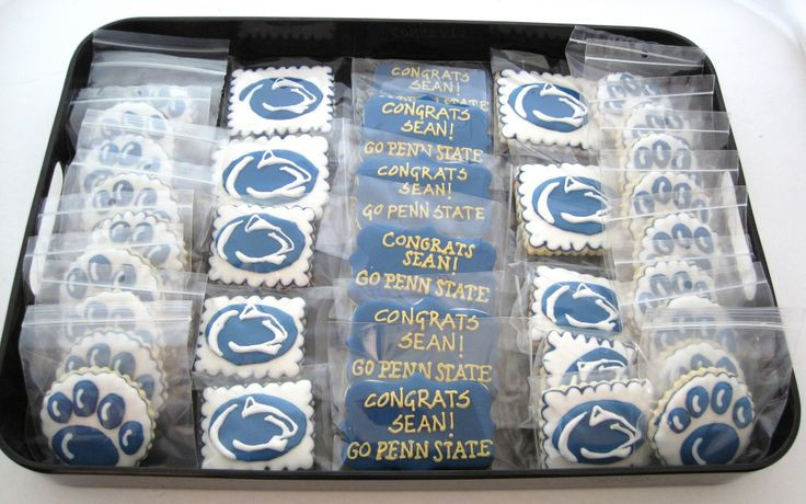 Penn State Graduation Gift Ideas  101 best PSU Cakes and Cookies images on Pinterest