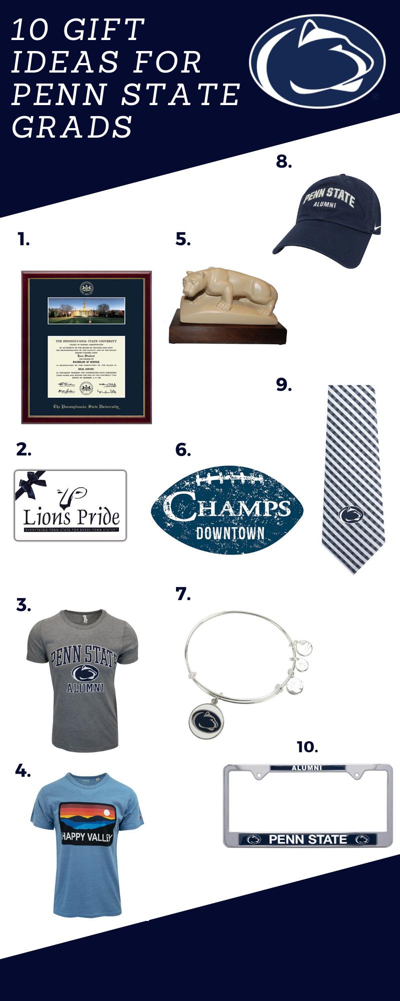 Penn State Graduation Gift Ideas  Penn State Graduation Gift Ideas Lions Pride