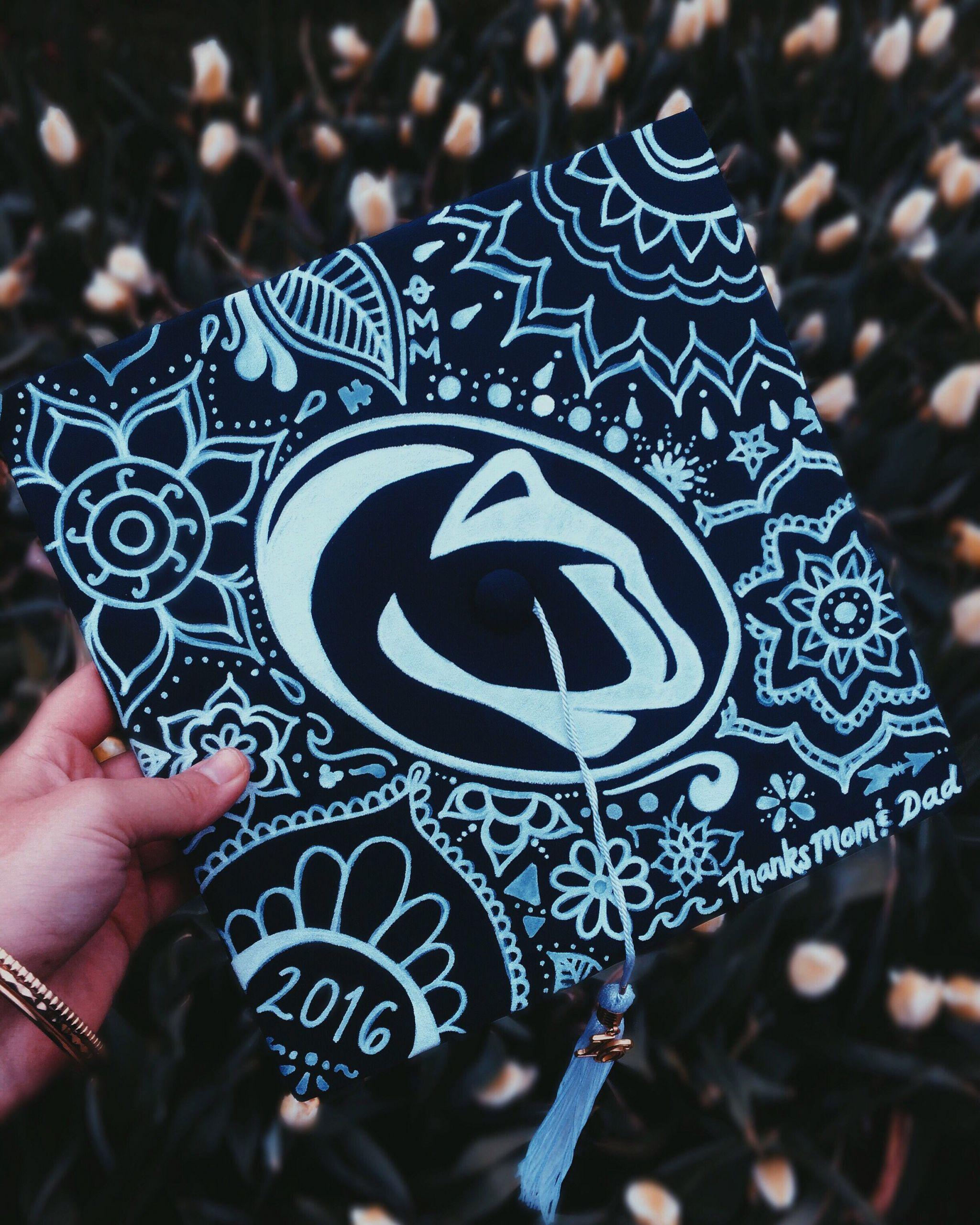Penn State Graduation Gift Ideas  Penn State Graduation Cap DIY