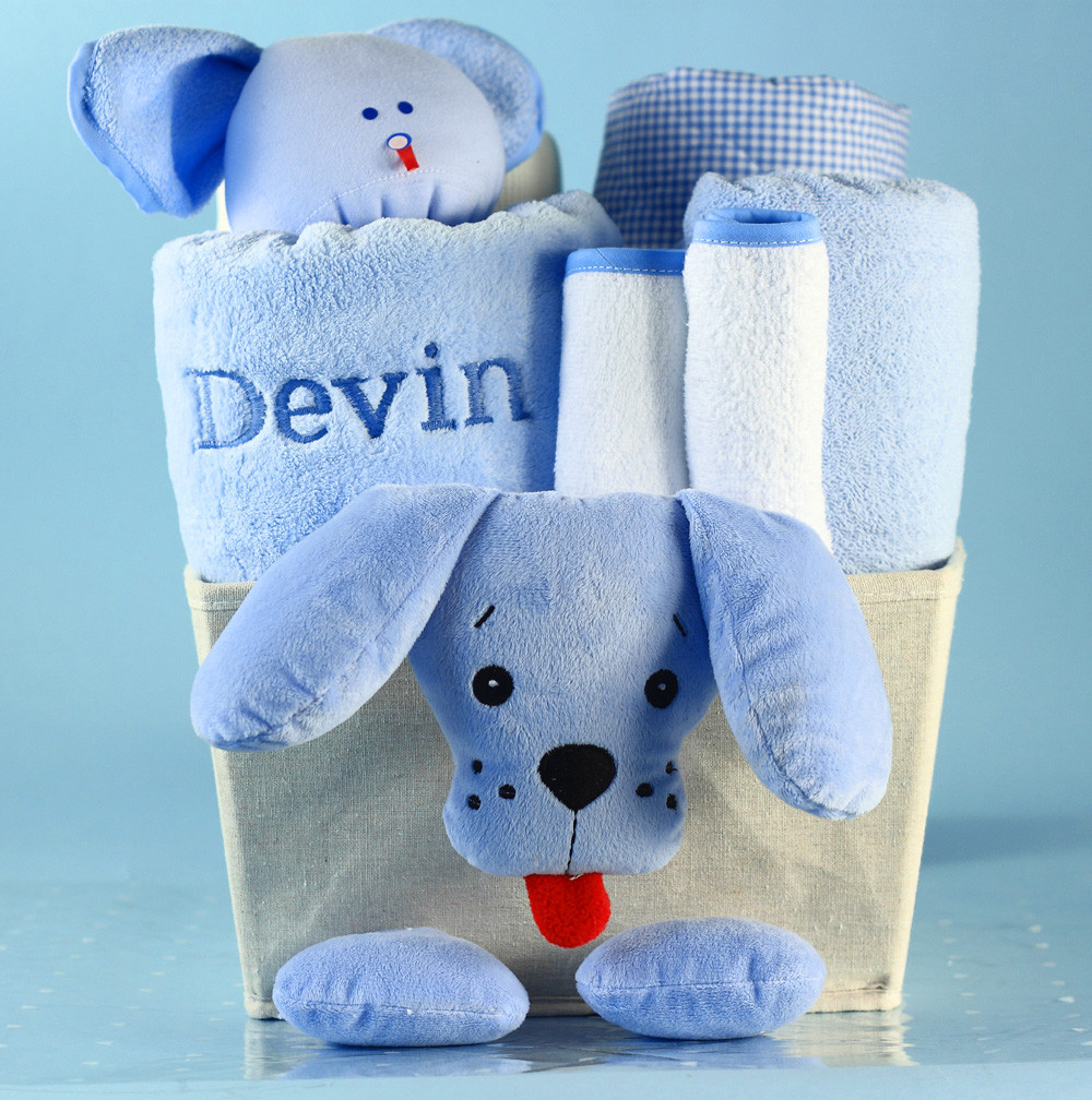 Personalized Baby Boy Gifts  Unique Baby Boy Gift Basket