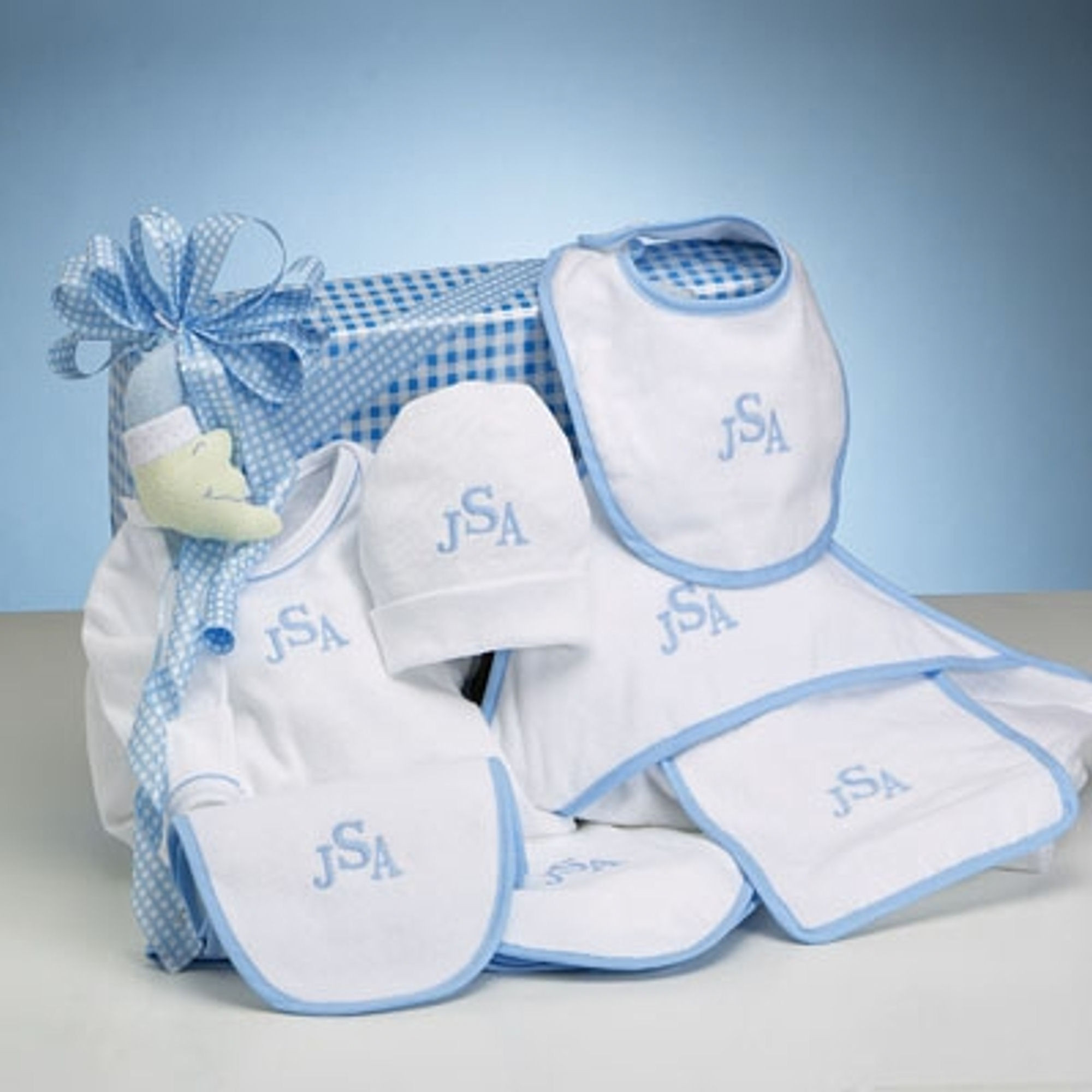 Personalized Baby Boy Gifts  Layette Baby Boy