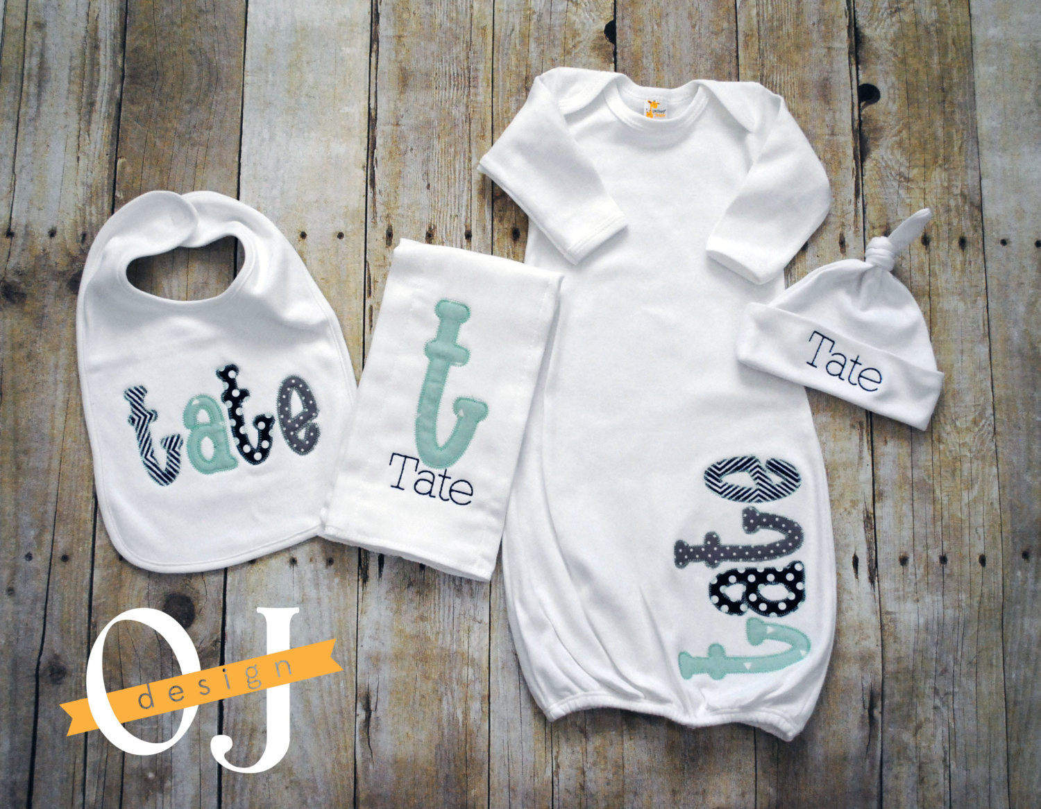 Personalized Baby Boy Gifts  Personalized Baby Boy Gift Set Newborn Gift Set Infant