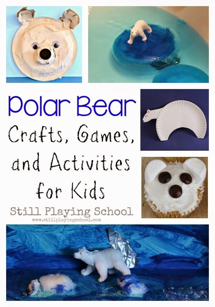 Polar Bear Crafts For Kids  Polar Bear Crafts & Activities for Kids