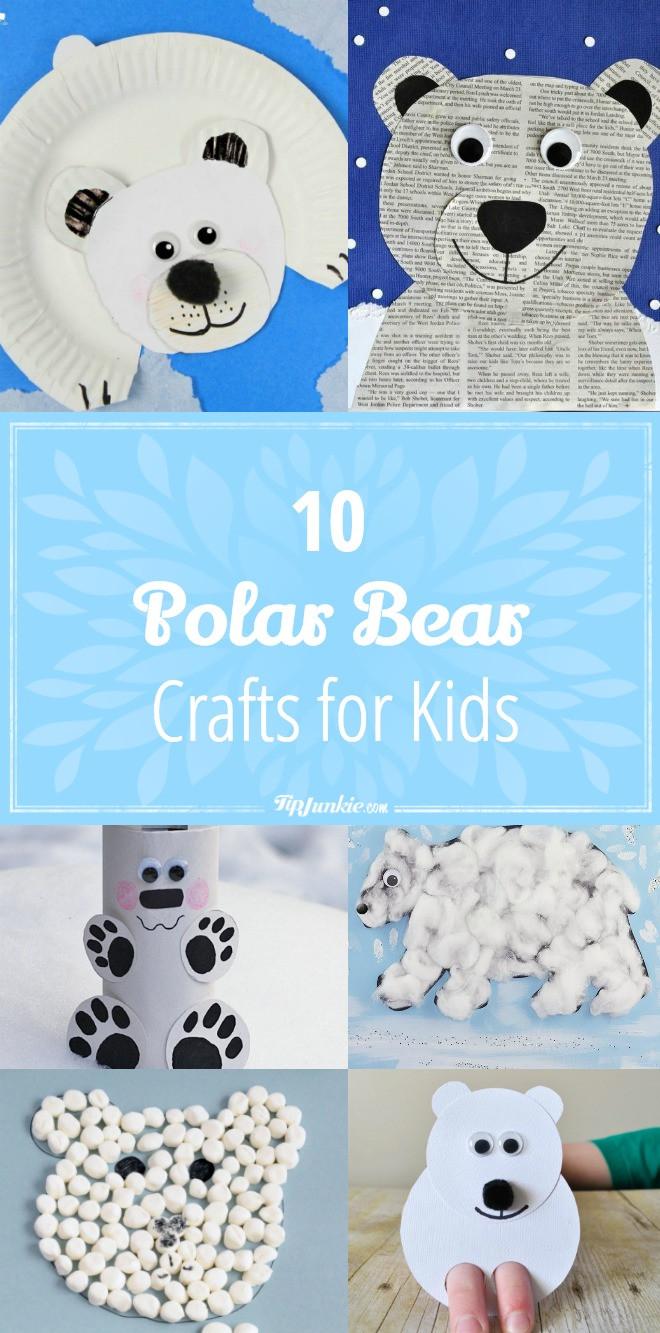 Polar Bear Crafts For Kids  10 Polar Bear Crafts for Kids