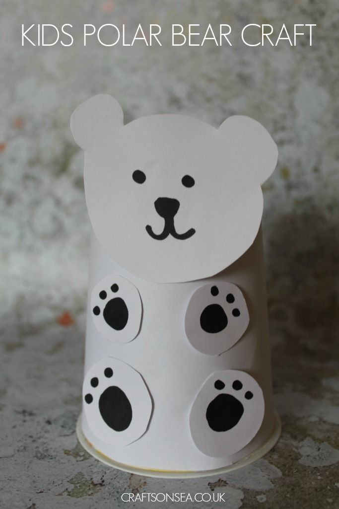 Polar Bear Crafts For Kids  134 best Bear Theme Activities for Kids images on
