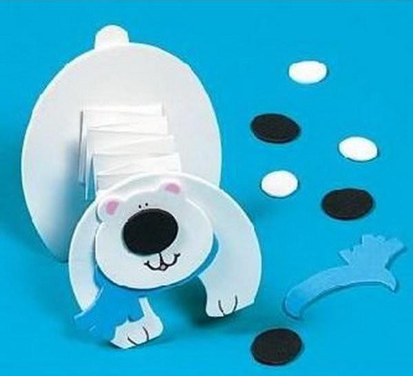 Polar Bear Crafts For Kids  Cool Polar Bear Crafts for Winter and Christmas Season