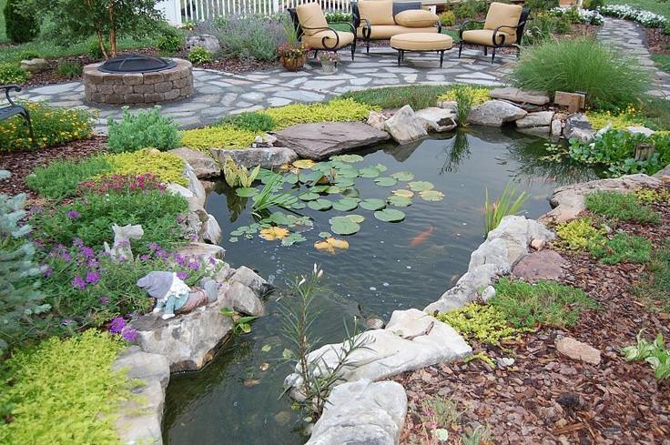 Pond In Backyard  53 Cool Backyard Pond Design Ideas