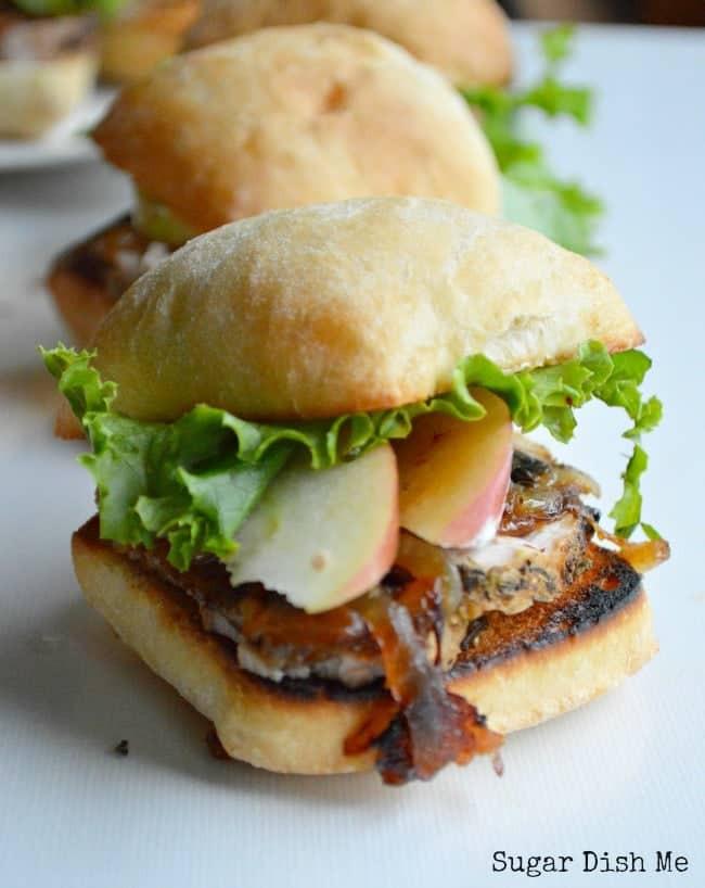 Pork Loin Sandwiches Recipe  Pork Tenderloin Sliders Sugar Dish Me