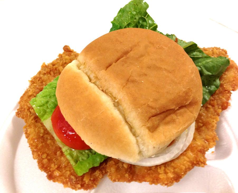 Pork Loin Sandwiches Recipe  Breaded Pork Tenderloin Sandwich
