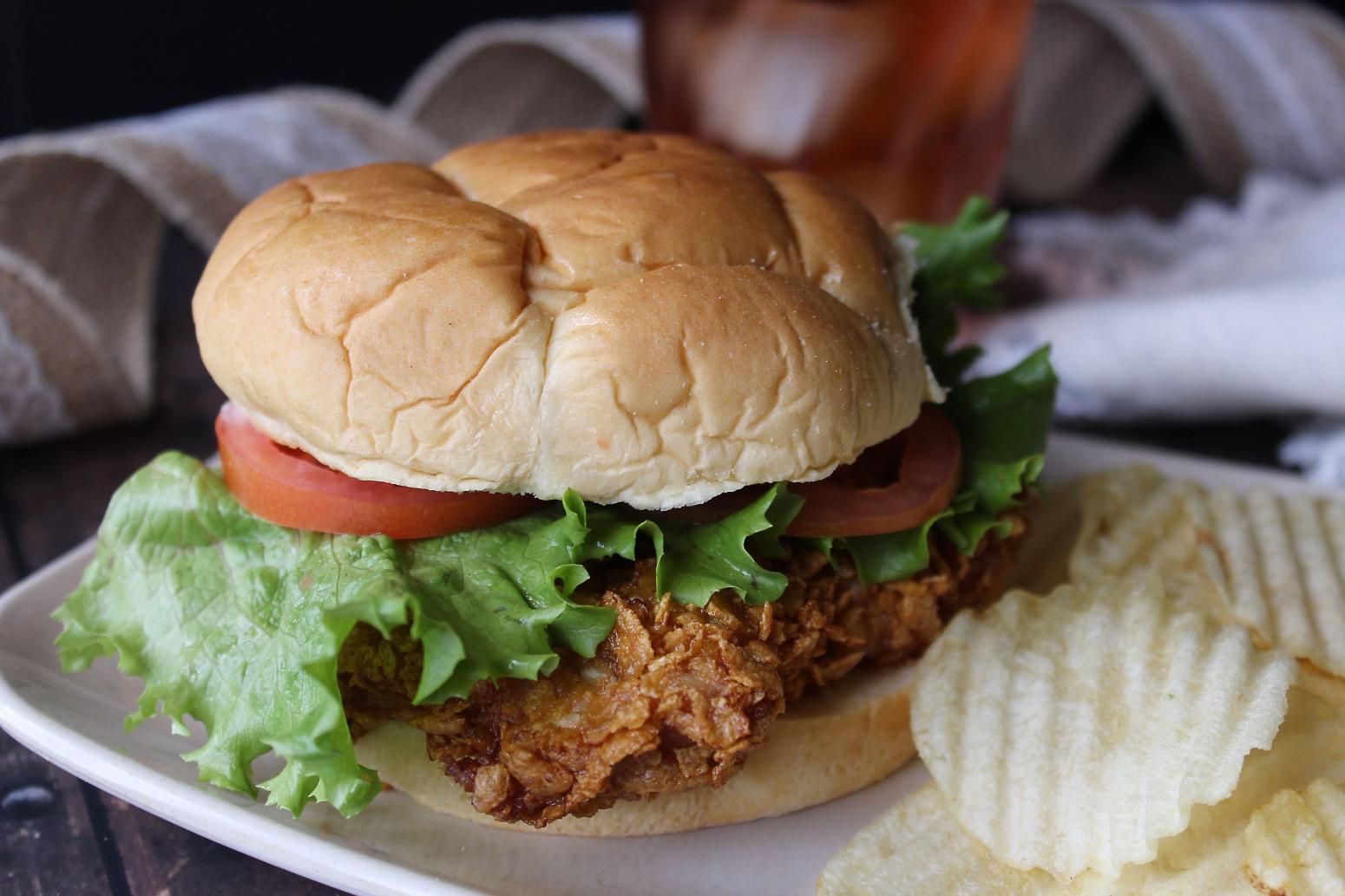 Pork Loin Sandwiches Recipe  Breaded Pork Tenderloin Sandwiches Recipe