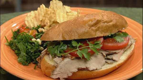 Pork Loin Sandwiches Recipe  Pork Tenderloin Sandwich Let s Dish