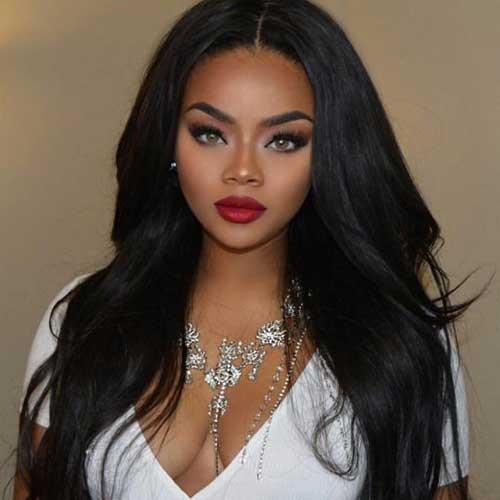 Pretty Black Girl Hairstyles  20 Pretty Black Girls with Long Hair