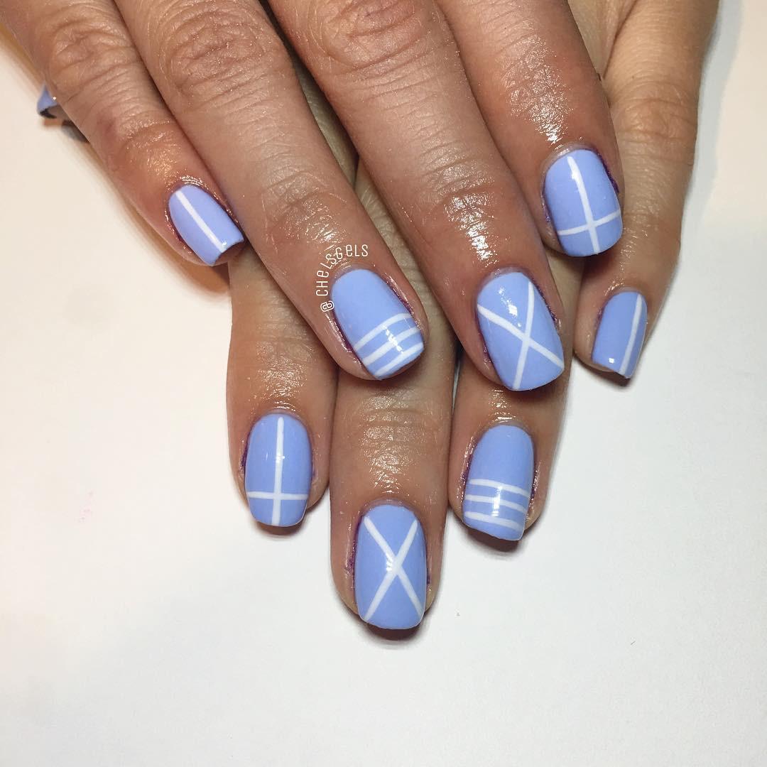Pretty White Nails  25 Neutral Nail Art Designs Ideas