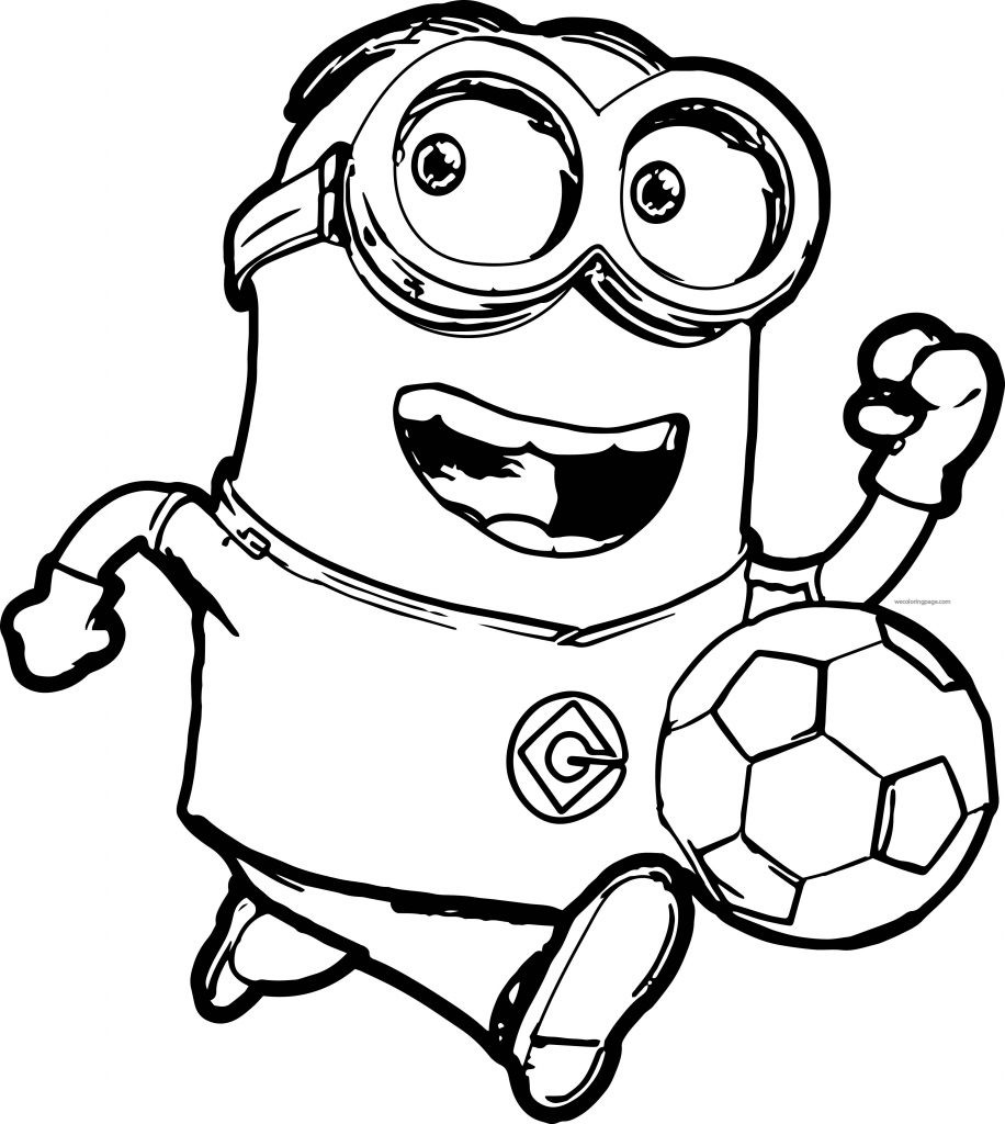 Printable Coloring Pages Kids  Minion Coloring Pages Best Coloring Pages For Kids