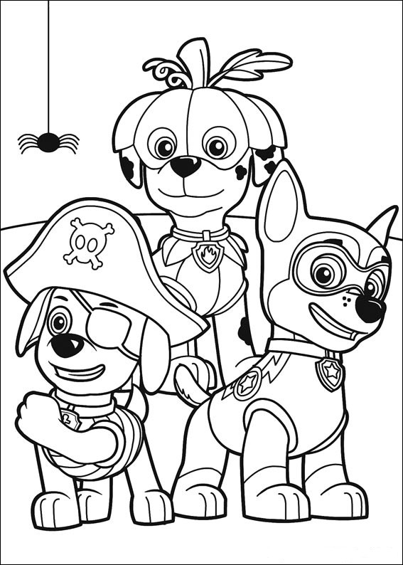 Printable Coloring Pages Kids  Paw Patrol Coloring Pages Best Coloring Pages For Kids