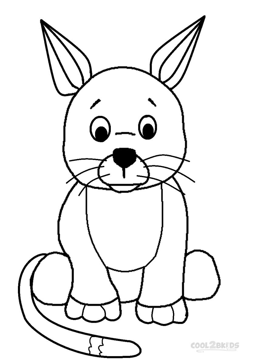 Printable Coloring Pages Kids  Printable Webkinz Coloring Pages For Kids