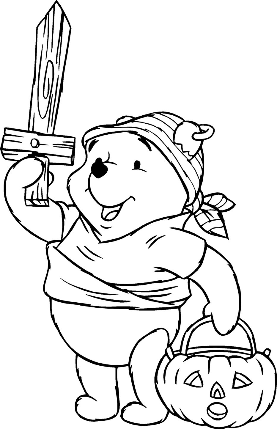 Printable Coloring Pages Kids  24 Free Printable Halloween Coloring Pages for Kids